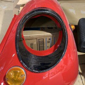 ヘッドライトカバー装着例(助手席側)