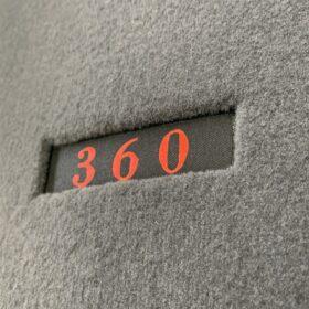 360の刺繍
