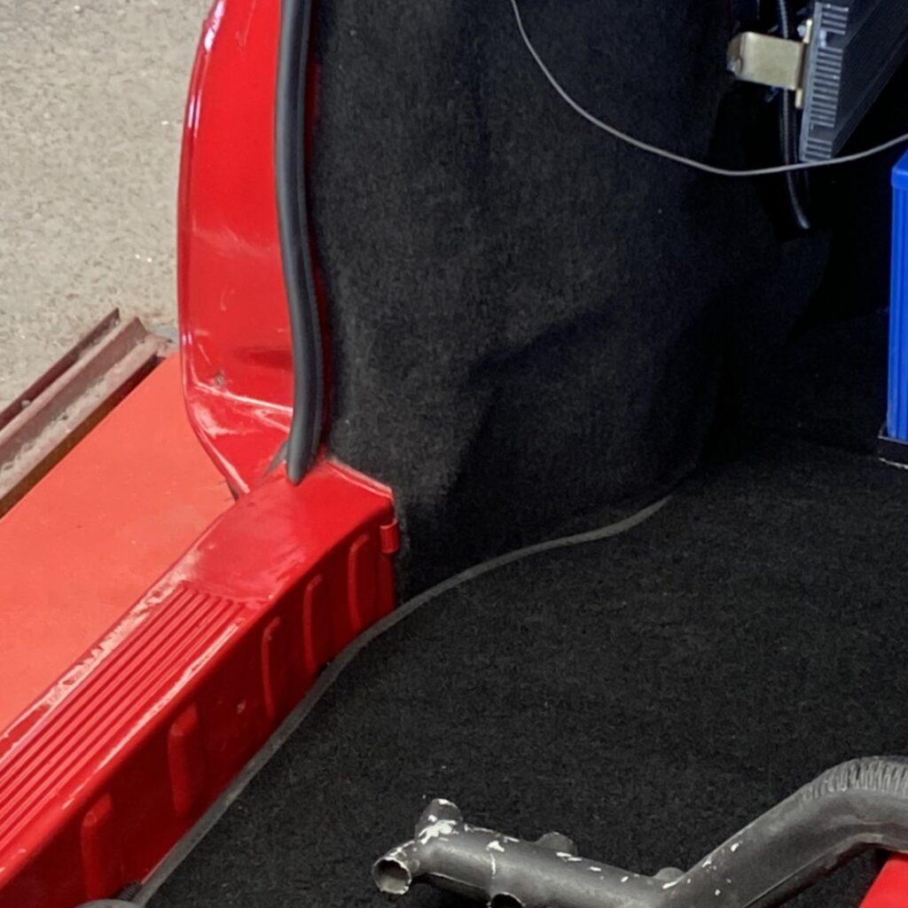 フロアーカーペット施工例